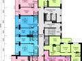 Планировки квартир, 10 этаж