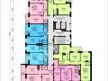 Планировки квартир, 7 этаж