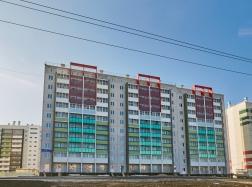 Дом №36 готов к заселению (вид с фасада)